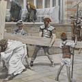 Jesus Bearing The Cross by Tissot