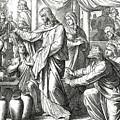 Jesus Changes Water Into Wine, Gospel Of John by Julius Schnorr von Carolsfeld