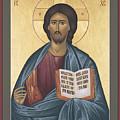 Jesus Christ - Pantocrator - Rljcp by Br Robert Lentz OFM