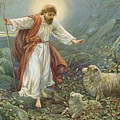 Jesus Christ The Tender Shepherd by Ambrose Dudley
