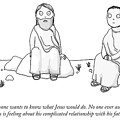Jesus Complains About His Father Issues. by Maddie Dai