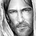 Jesus Face by Greg Joens