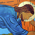 Jesus Falls Under The Cross by Sara Hayward