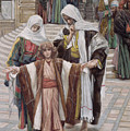 Jesus Found In The Temple by Tissot