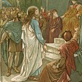Jesus In Front Of Pilate by John Lawson