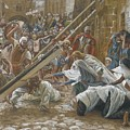 Jesus Meets His Mother by Tissot
