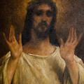Jesus Meets The Daughters Of Jerusalem. Jesus Comfort Them. 8. Station Of The Cross by Dan Radi