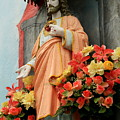 Jesus On Burano by Michael Henderson