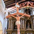 Jesus On The Cross In San Ramon, Bolivia by Jess Kraft