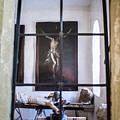 Jesus On The Cross by Rainbeau Decker
