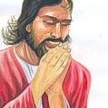 Jesus Praying by Emmanuel Baliyanga