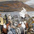 Jesus Preaching by Tissot