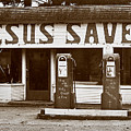 Jesus Saves 1973 by Michael Ziegler