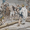 Jesus Stripped Of His Clothing by Tissot