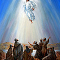 Jesus Taken Up Into Heaven by John Lautermilch
