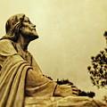 Jesus Teach Us To Pray - Christian Art Prints by Ella Kaye Dickey