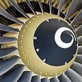 Jet Engine Detail. by Fernando Barozza