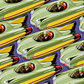 Jet Racer Rush Hour by Ron Magnes