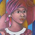 Jeune Fille En Rose by Keller