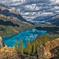 Jewel Of The Rockies by Philip Kuntz