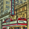Jewel Of The South Tivoli Chattanooga Historic Theater Art by Reid Callaway