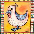 Jewel Rooster 1 by Rachel Cotton