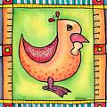 Jewel Rooster II  by Rachel Cotton