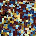 Jigsaw Abstract by Will Borden