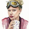 Jillian Holtzmann Ghostbusters Portrait by Olga Shvartsur