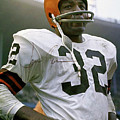 Jim Brown, Cleveland Browns, Signed by Thomas Pollart