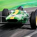 Jim Clark Lotus 25 by Steve Jones