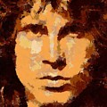 Jim Morrison - Digital Art by Dragica Micki Fortuna