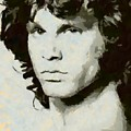 Jim Morrison by Dragica Micki Fortuna