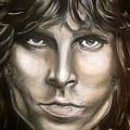 Jim Morrison by Zach Zwagil