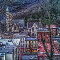 Jim Thorpe Pennsylvania In Winter #1 by Christopher Lotito