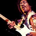 Jimi Hendrix by Bert Mailer