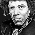 Jimi Hendrix by Bill Richards