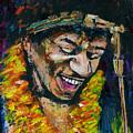 Jimi Hendrix by Frances Marino