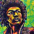 Jimi Hendrix by Hunter Davis
