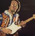 Jimi Hendrix by Joseph Papale