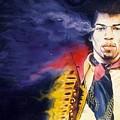 Jimi Hendrix by Ken Meyer