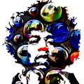 Jimi Hendrix by Love Art