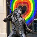Jimi Hendrix Love On Capitol Hill by Matt McDonald