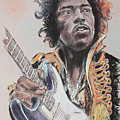 Jimi Hendrix  by Melanie D