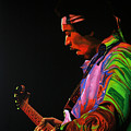 Jimi Hendrix 4 by Paul Meijering