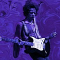 Jimi Hendrix Purple Haze by David Dehner