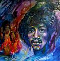 Jimi Hendrix by Sofanya White