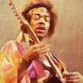 Jimi Jamming by Dan Sproul