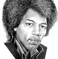 Jimmi Hendrix By Murphy Art. Elliott by Murphy Elliott
