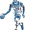 Jimmy Butler Minnesota Timberwolves Pixel Art 5 by Joe Hamilton